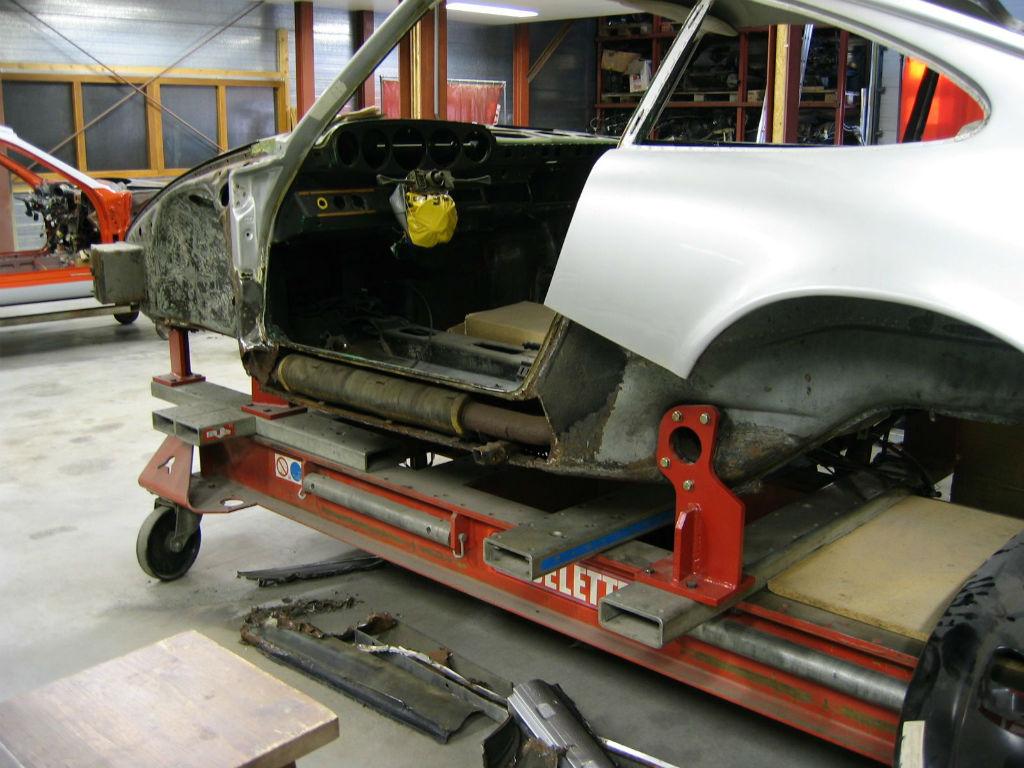 Porsche restauratie